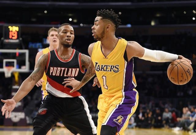 Preseason Recap: Lakers Guards Struggle In Overtime Loss To Portland