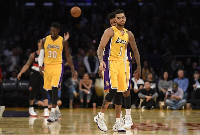 Larry Nance Jr: Lakers Don't Want To Be In Lottery For 'foreseeable Future'