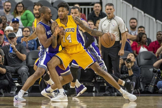 Should Lakers Be Concerned About Rookie Brandon Ingram?