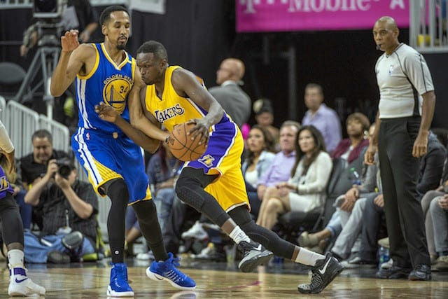 Luol Deng Says Lakers Can 'learn' From Loss To Warriors