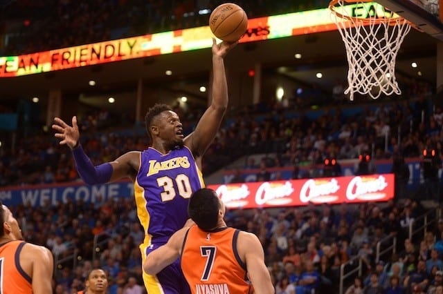 Game Recap: Lakers Fall To Thunder In Oklahoma City