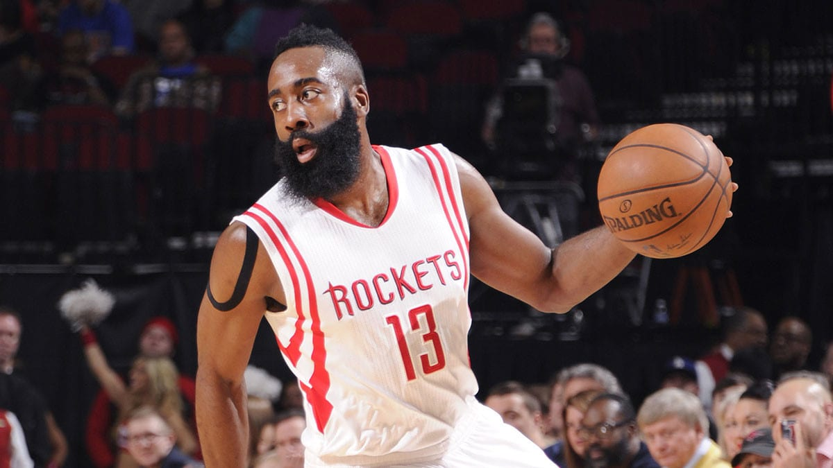 James Harden Explains How Rockets Will Look To Defeat Lakers