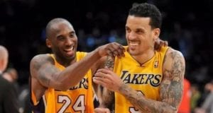 Matt Barnes and Kobe Bryant, Lakers