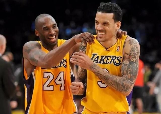 Kobe Bryant, Matt Barnes, Los Angeles Lakers