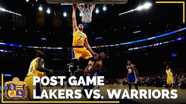 Los Angeles Lakers Vs. Golden State Warriors (videos)