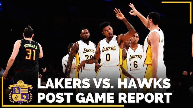 Los Angeles Lakers Vs. Atlanta Hawks Postgame (videos)