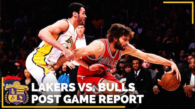 Los Angeles Lakers Vs. Chicago Bulls Postgame (videos)