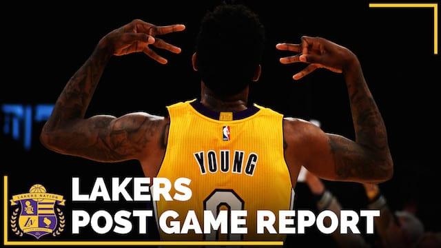Los Angeles Lakers Vs. Oklahoma City Thunder Postgame (videos)