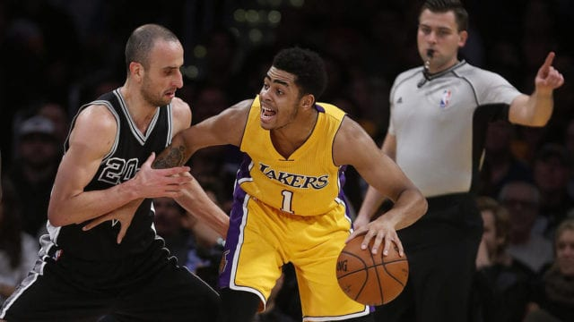 D'angelo Russell Reveals He Patterns His Game After Manu Ginobili