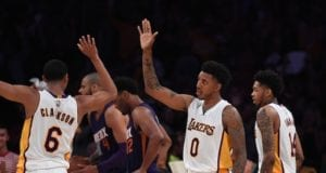 Nick Young, Jordan Clarkson Lakers