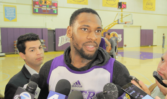 Tarik Black On The Lakers Bench: 'we Want To Be The Best Lineup In The Nba'