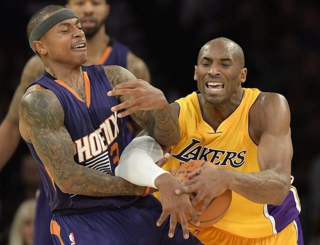 Isaiah Thomas Recalls Trying To Guard Kobe Bryant In First Nba Game