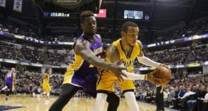 Julius Randle Monta Ellis Lakers Pacers