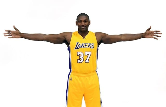 Lakers Using Metta's 'i Love Basketball' Motto To Break Huddles