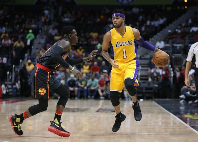 Lakers Nation Podcast: Big Win Over The Hawks, D'angelo Russell's Break Out Performance