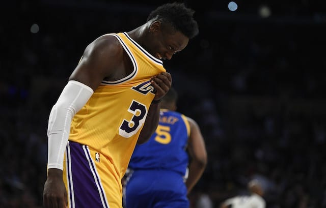 Luke Walton On Julius Randle: 'he's A Monster'