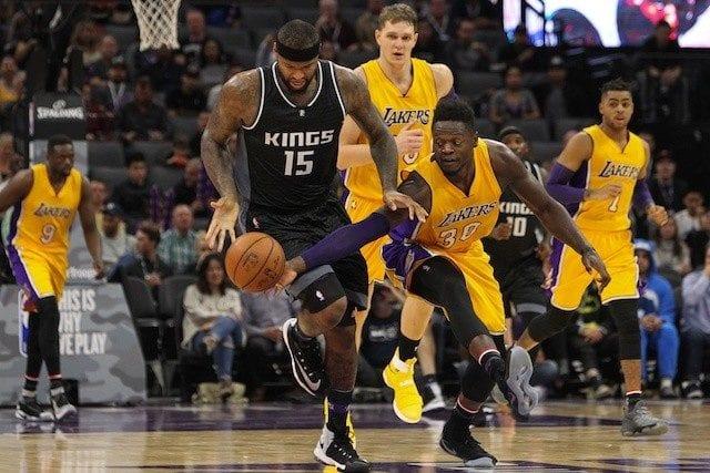 Julius Randle, Lakers, Kings, DeMarcus Cousins