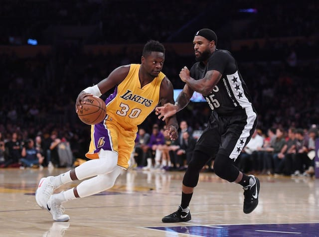 Game Recap: D'angelo Russell, Julius Randle Lead Lakers Over Nets