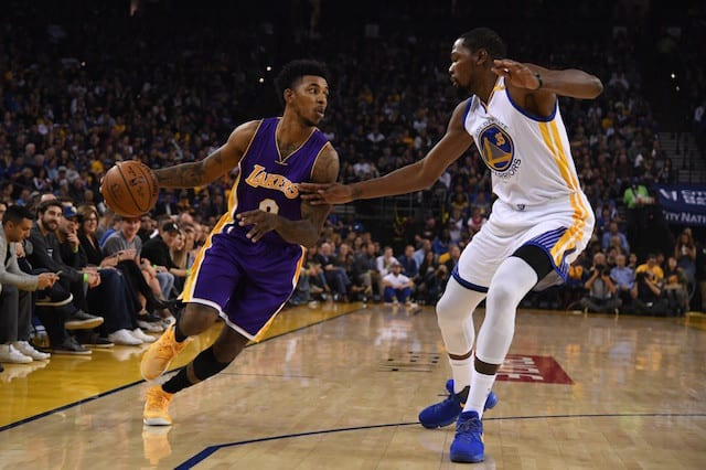 Nick Young On Friday's Warriors Game: 'we've Got Something To Prove'