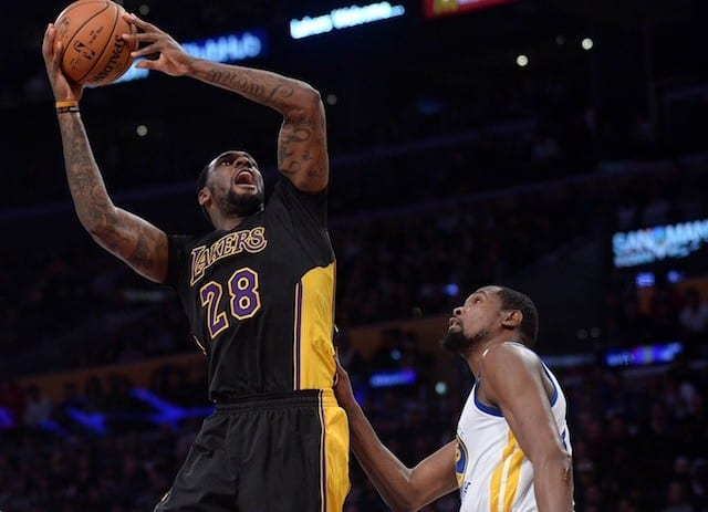 Tarik Black Says Lakers 'sacrifice For Each Other' This Season