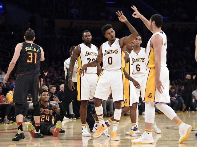8878c8352 Luke Walton Doesn t See Any  Attitude Problems  With Lakers - Lakers ...