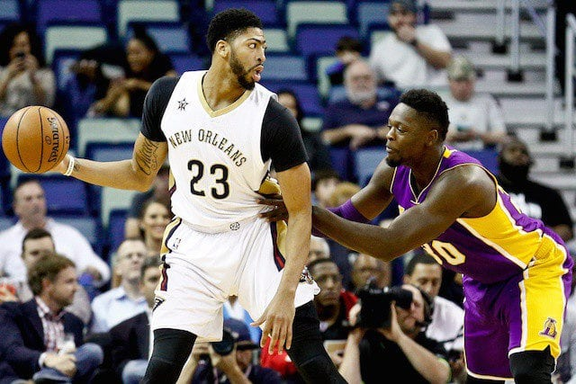 Julius Randle Anthony Davis Lakers, Pelicans