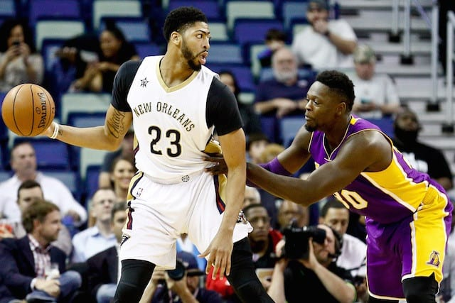 Julius Randle Anthony Davis Lakers, Pelicans