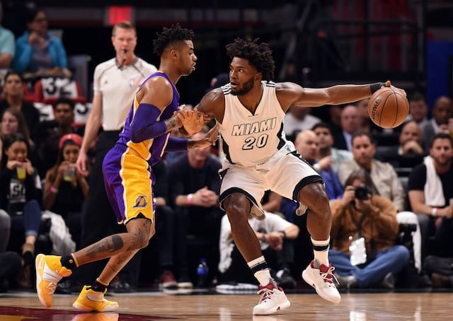 Game Recap: Lakers Blow Another 19-point Lead, Fall To Heat 115-107