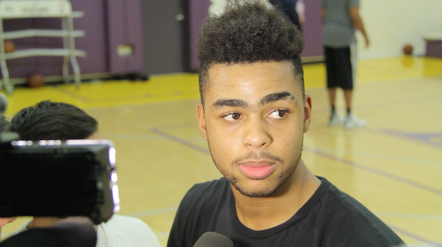 D'angelo Russell Wants To 'make His Presence Known' When He Returns