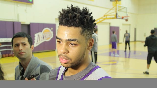 Luke Walton Praises D'angelo Russell For Adapting His Style Of Play