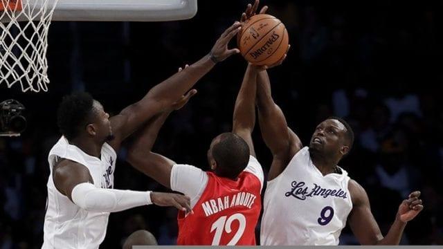 Julius Randle Luol Deng Lakers