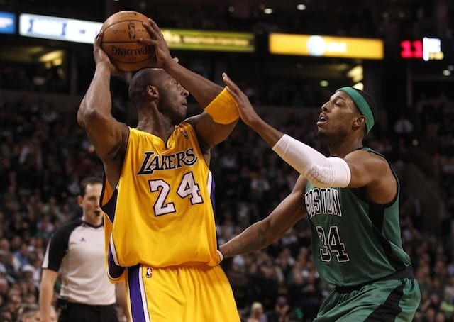Lakers News: Paul Pierce Takes Shot At Kobe Bryant In 'life Out Loud'