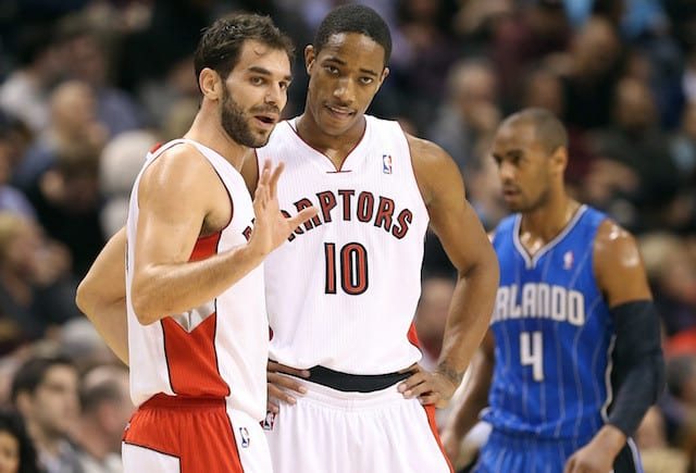 Demar Derozan Praises Jose Calderon For Helping Him Become An Elite Player