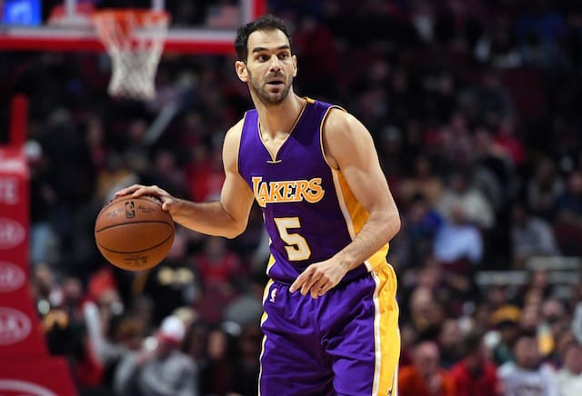 Lakers News: Jose Calderon Out 2-4 Weeks With A Hamstring Strain
