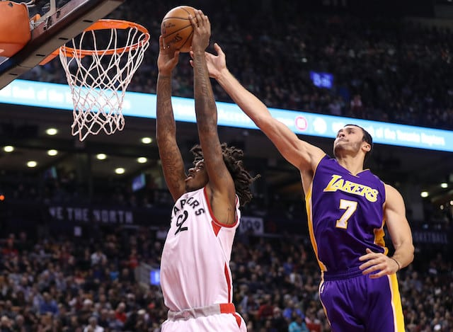 Lakers News: Larry Nance Jr. Suffers Knee Contusion In Loss To Raptors