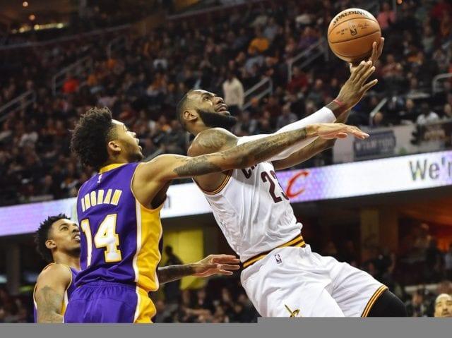 LeBron James Brandon Ingram Lakers
