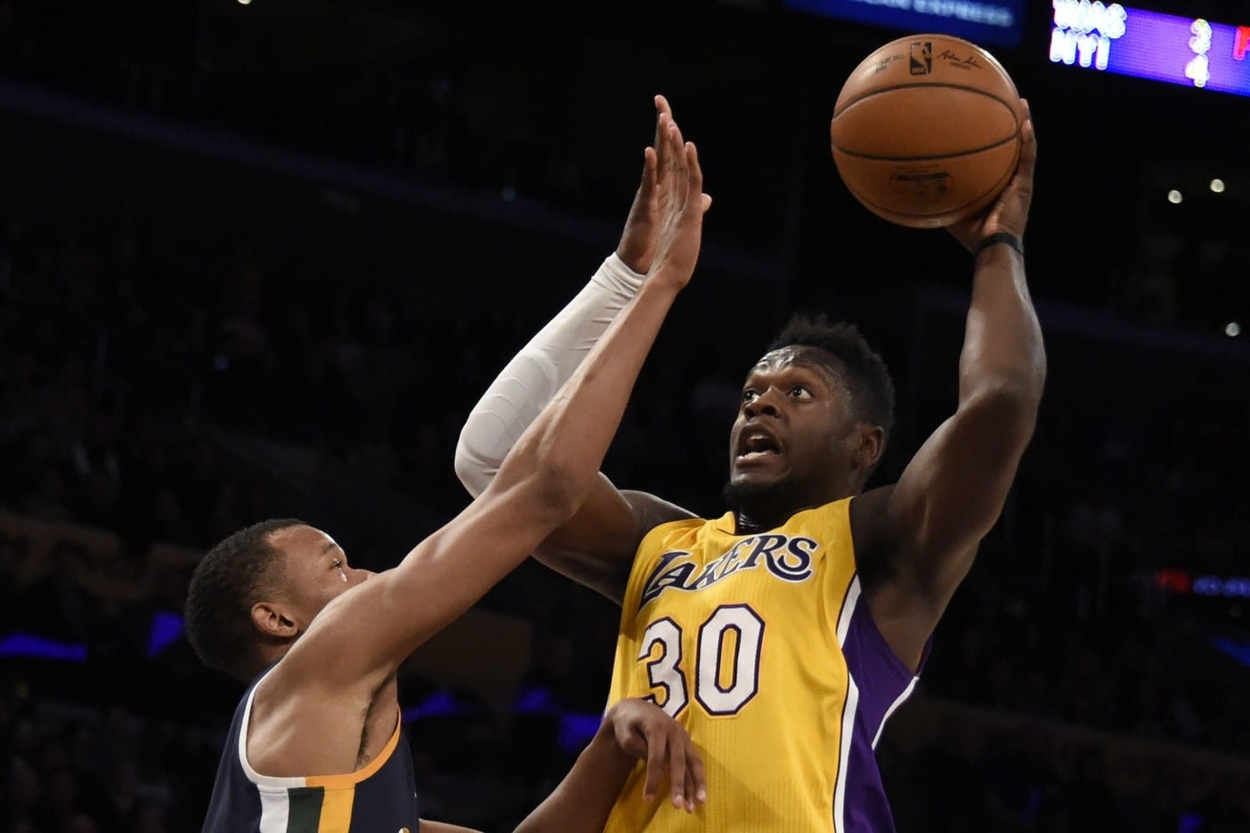 Game Recap: Lakers Drop Nail Biter To Jazz Despite Randle's Big Night