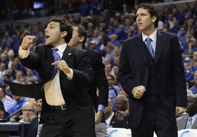 Luke Walton Reflects On His Time As An Assistant At University Of Memphis