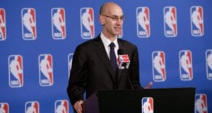 Adam Silver NBA Lakers NBA Draft