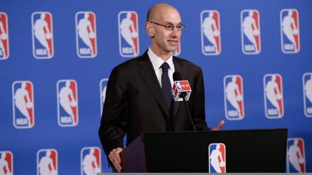 Adam Silver, NBA, Lakers NBA Draft