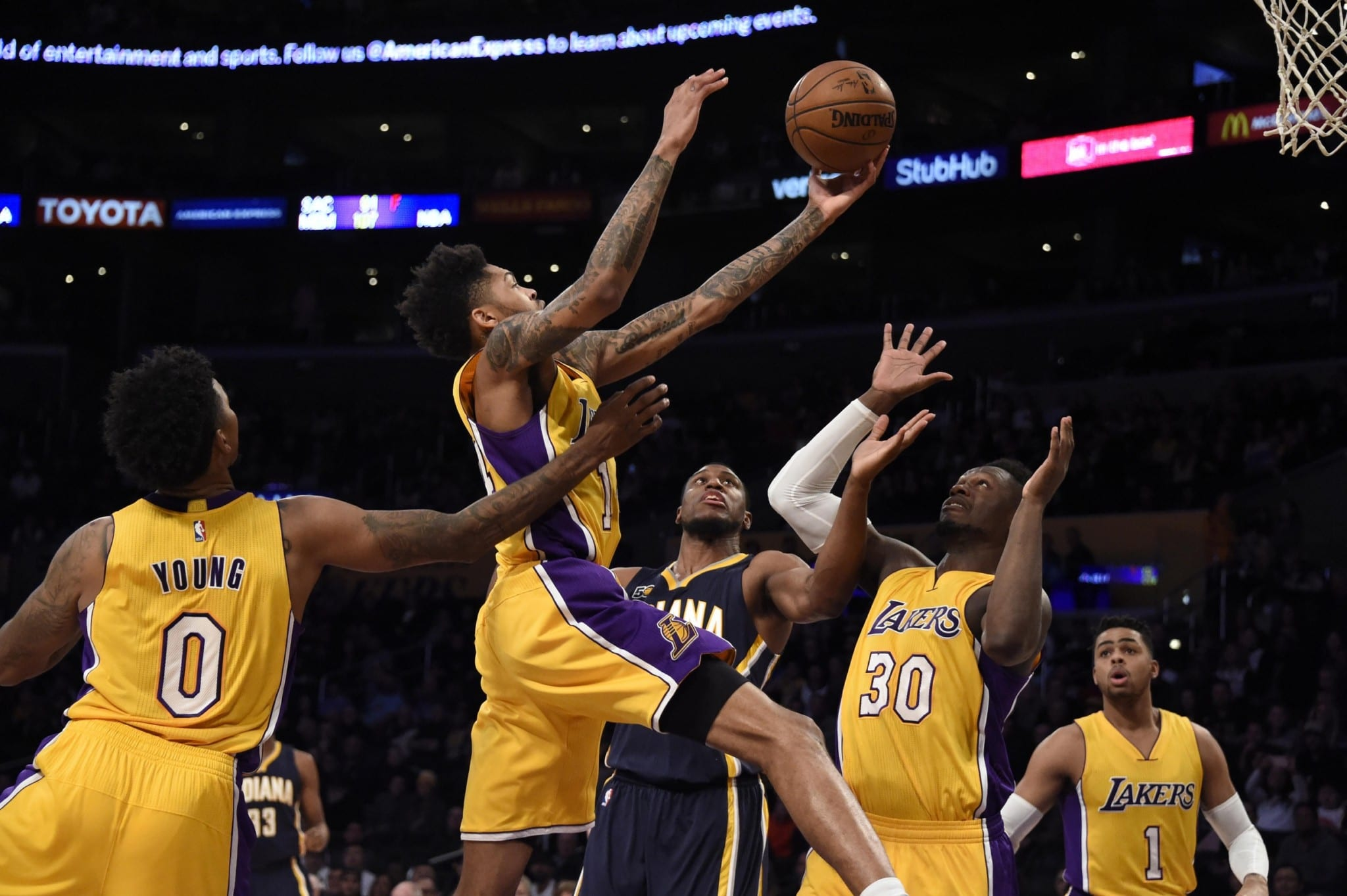 Luke Walton Believes Brandon Ingram Was The Best Player On The Floor At Times Vs. Pacers