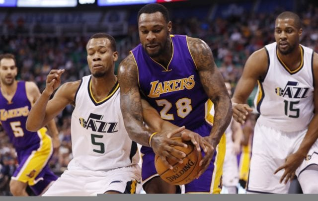 Game Recap: Short-handed Lakers Can't Keep Up With Jazz