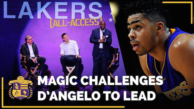 Magic Johnson Wants D'angelo Russell To Follow In His Footsteps
