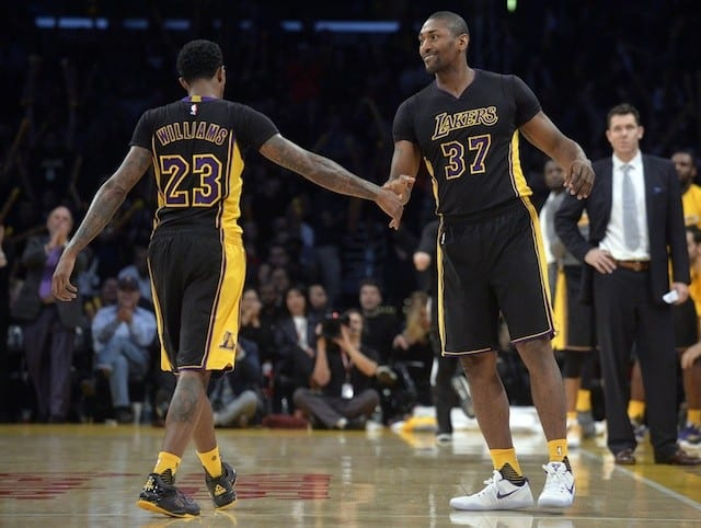 Lakers News: Metta World Peace, Lou Williams Set For Rap Performance At All-star Weekend