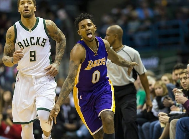 Game Recap: Lakers Shoot Lights Out, Hold On For 122-114 Win Over Bucks