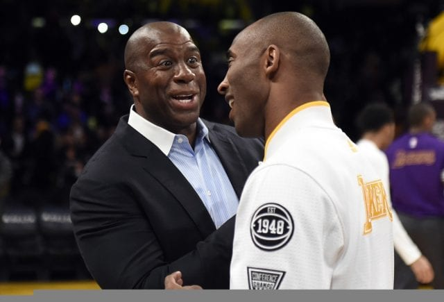 Magic Johnson Wants Kobe Bryant To Help With The Lakers