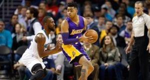 D'Angelo Russell Kemba Walker Lakers