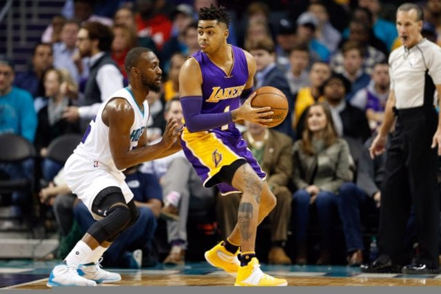 D'Angelo Russell Kemba Walker Lakers