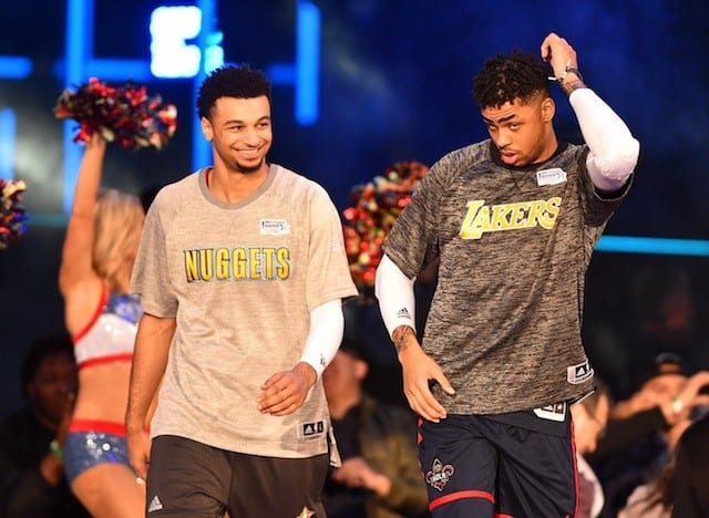 Rising Stars Challenge Recap: Jamal Murray Leads World Team To Victory Over Usa