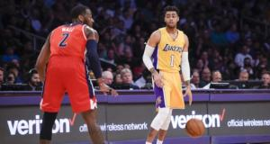 D'Angelo Russell, John Wall Lakers Wizards